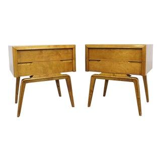 Pair of Mid-Century Danish Modern Edmond J. Spence Nightstands For Sale