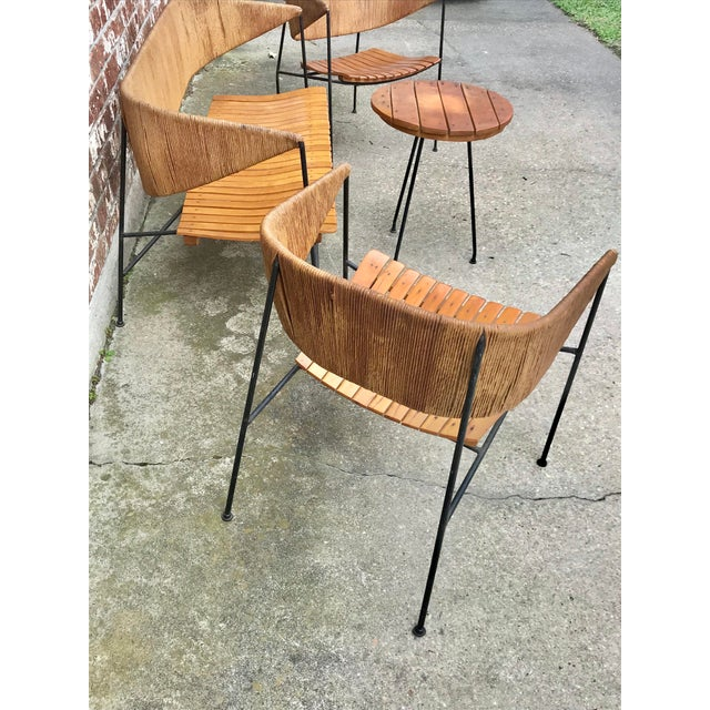 Raymor Mid-Century Modern Arthur Umanoff for Shaver, Howard & Raymor Seating Set- 4 Pieces For Sale - Image 4 of 13