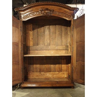 """Early 1700's French Walnut Wood Chateau Armoire, """"The Order of Saint Louis"""" Preview"""