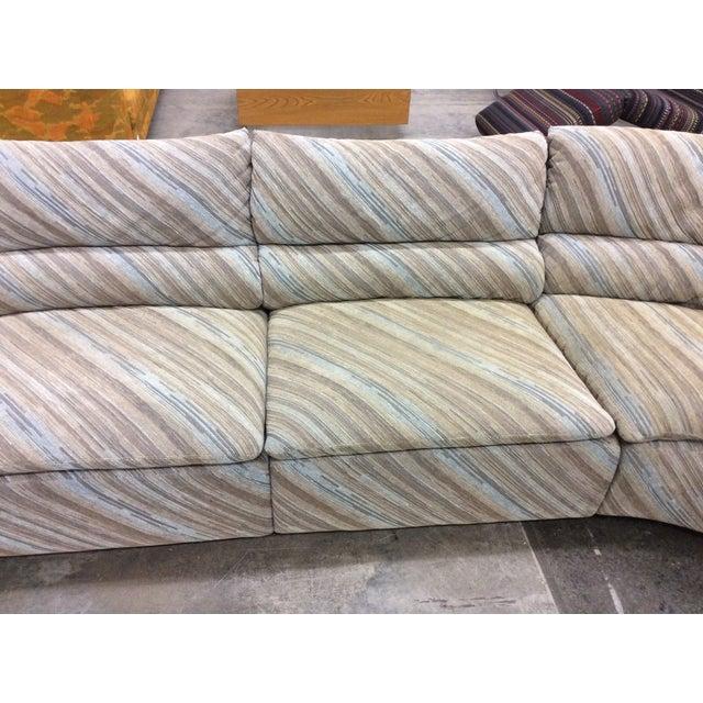 Saporiti Italia Six-Piece Sectional Sofa For Sale In New York - Image 6 of 11