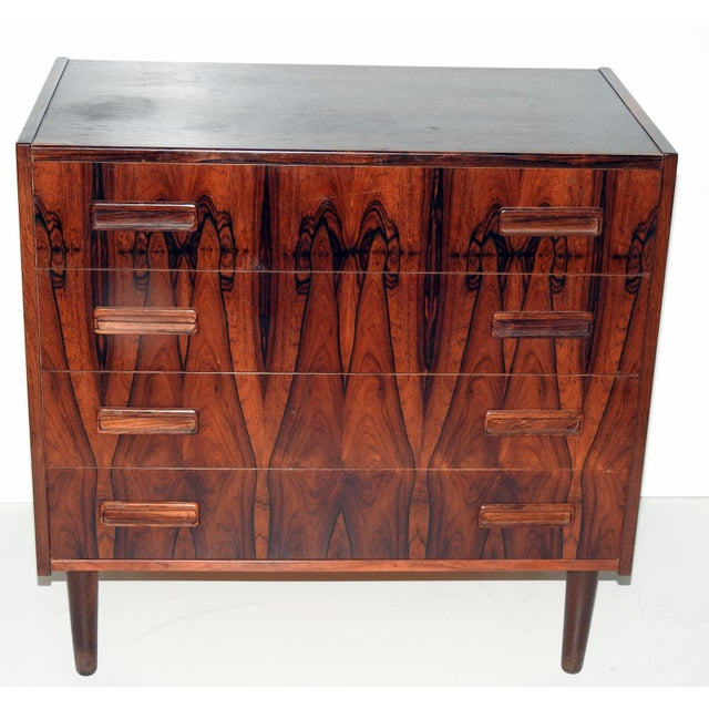 Danish Rosewood Bachelor's Chest - Image 2 of 6