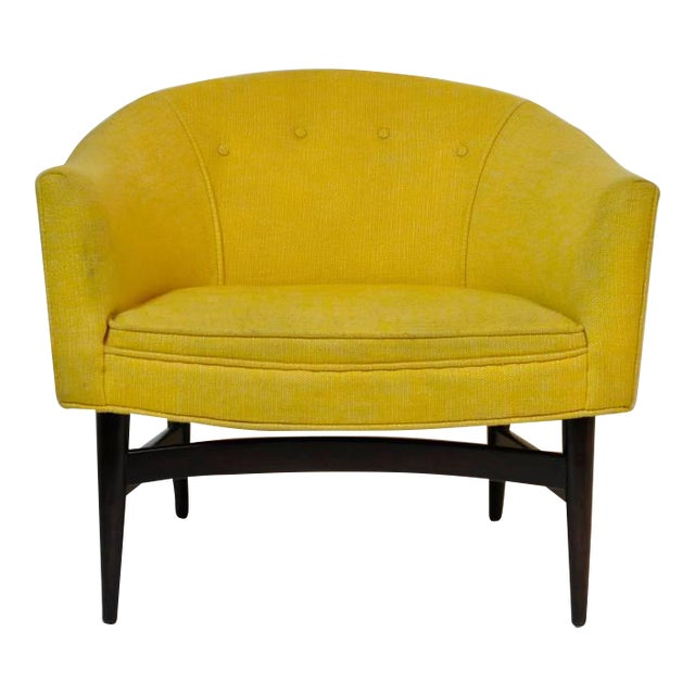 Petite Lounge Chair Designed by Larence Peabody For Sale