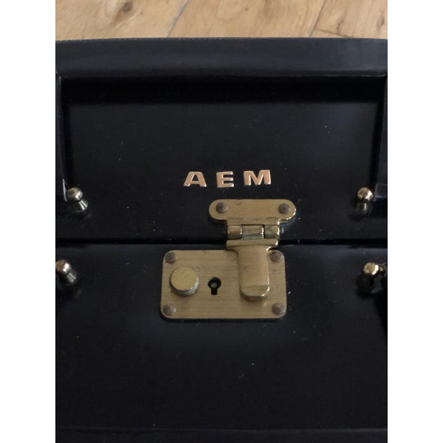 Mid 20th Century Vintage Travelling Leather Vanity Case, 1960-1970 by Asprey For Sale - Image 9 of 12