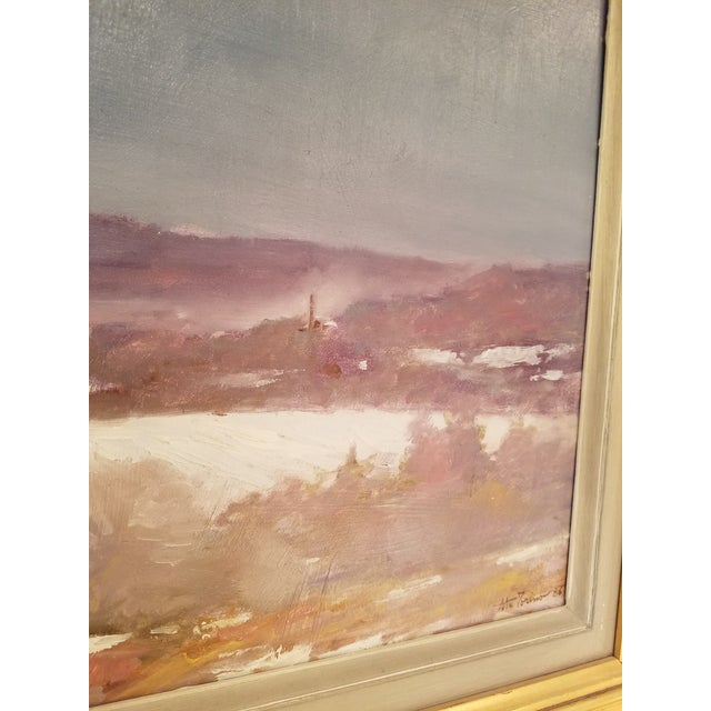 Tony Autorino Bucks County Impressionist Oil Painting - Image 2 of 6