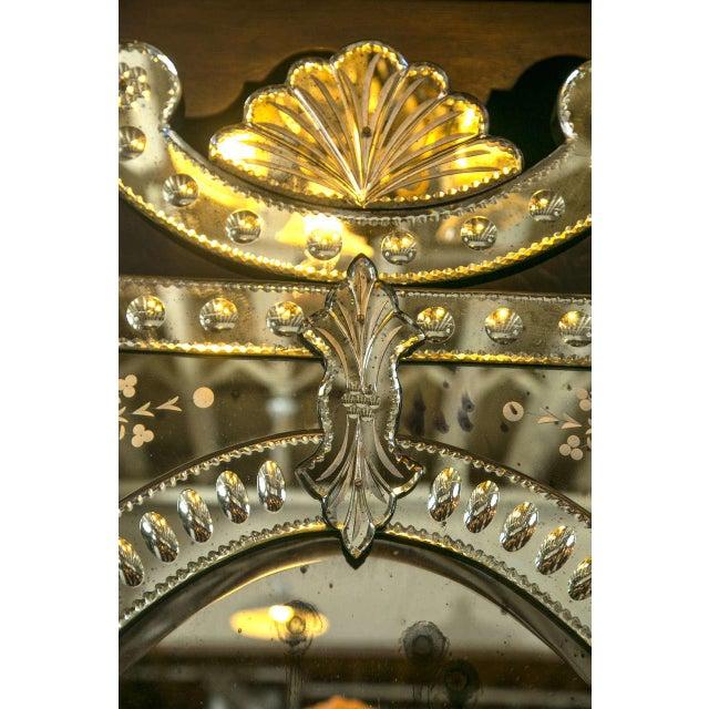 Monumental Venetian Mirrors - A Pair - Image 5 of 8