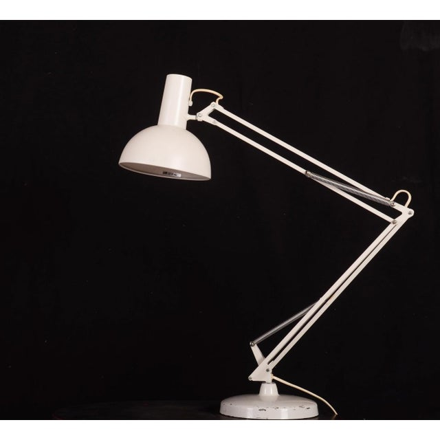 Steel Table Lamp by Louis Poulsen, 1970s For Sale - Image 6 of 8