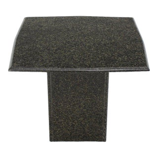 Rounded Square Granite Side End Stand Table Modern Design For Sale