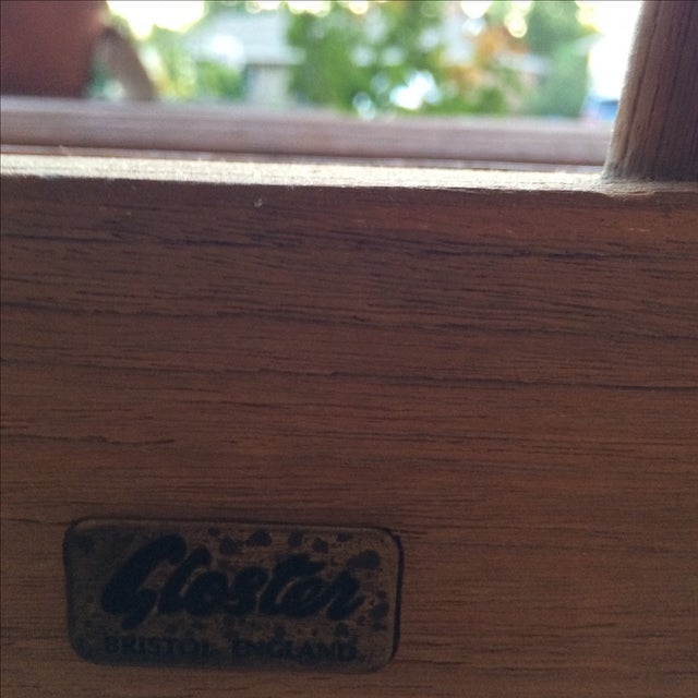 Gloster 8' Teak Bench For Sale - Image 5 of 8