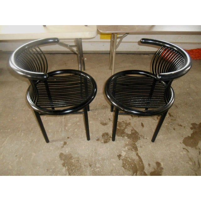 Mid-Century Modern Helmut Lubke & Co. Dining Chairs - Set of 4 For Sale - Image 5 of 8