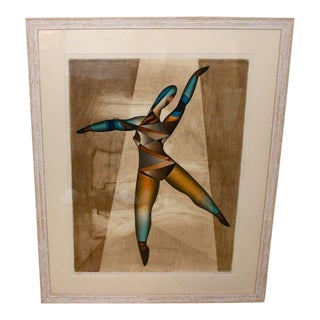 "Neal Doty ""Dancer"" Serigraph Print Signed and Numbered For Sale"