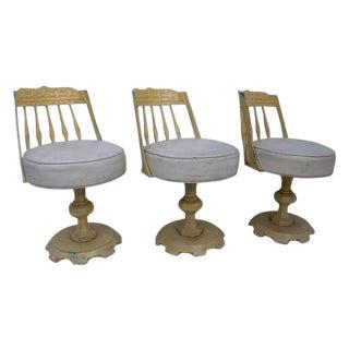 Kessler Swivel Aluminum Outdoor Chairs - Set of 3