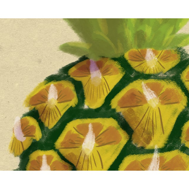 Boho Chic Modern Pineapple Wall Art, 2017 For Sale - Image 3 of 9