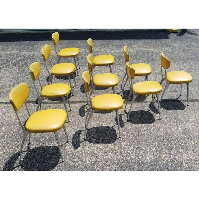 Rare Shelby Williams gazelle chairs.