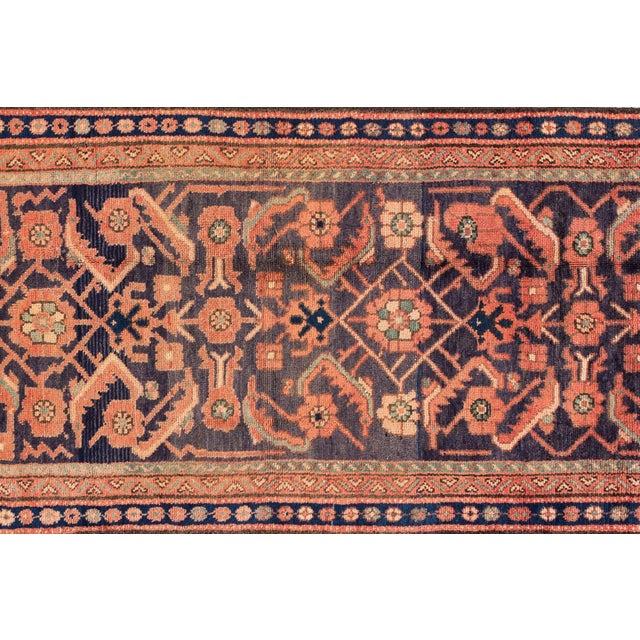 "Apadana - Vintage Persian Malayer Runner Rug, 3'0"" X 9'6"" For Sale - Image 4 of 7"