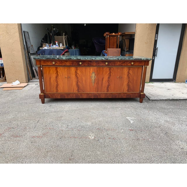 Empire 1900s French Empire Antique Sideboard For Sale - Image 3 of 13