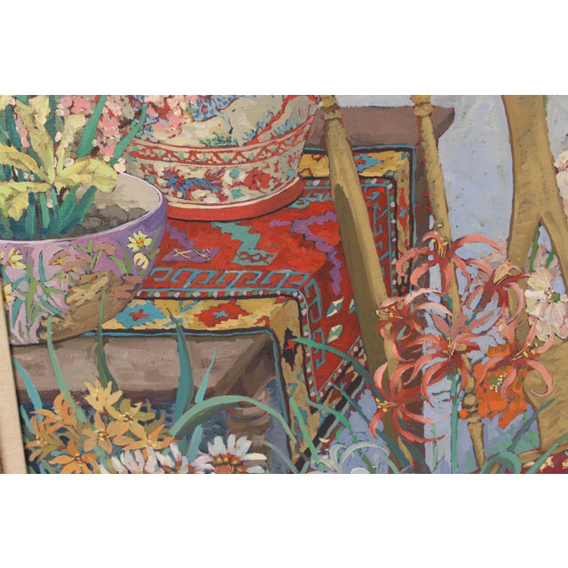 Chinoiserie Still Life by John Powell For Sale - Image 9 of 13