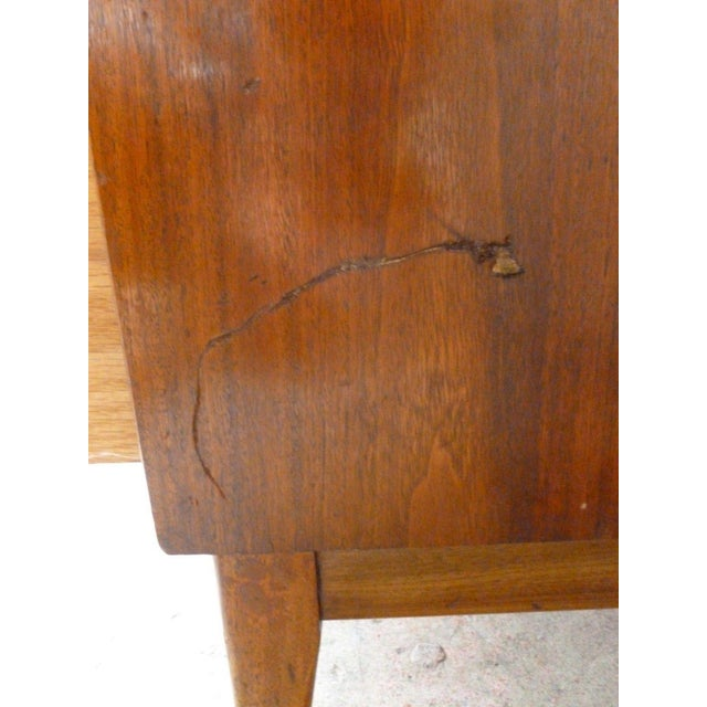 1950s Vintage Danish Modern Style Credenza/Chest For Sale - Image 10 of 13