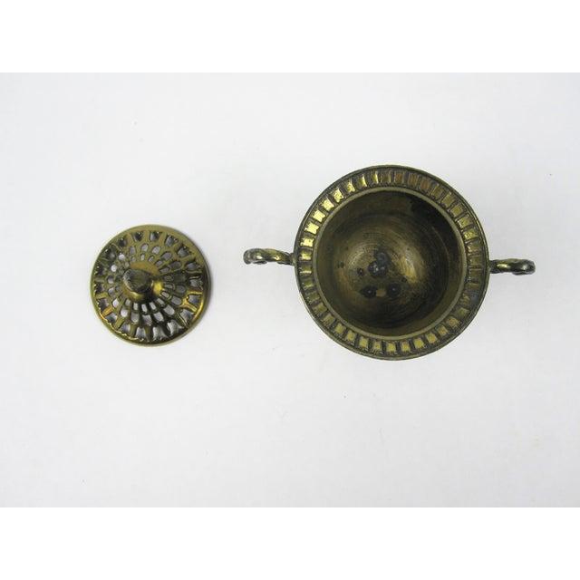 Japanese Brass Incense Burner - Image 5 of 5