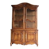 Image of Ethan Allen French Country China Cabinet For Sale