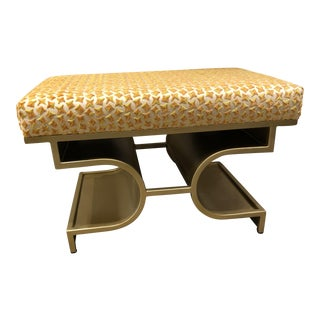 Brass Base Traditional Small Bench