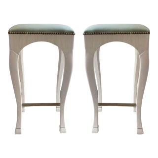 Customized Goat Leg Bar Stools - a Pair