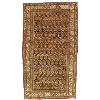 Early 20th Century Antique Hamadan Rug - 5′ × 8′9″ For Sale