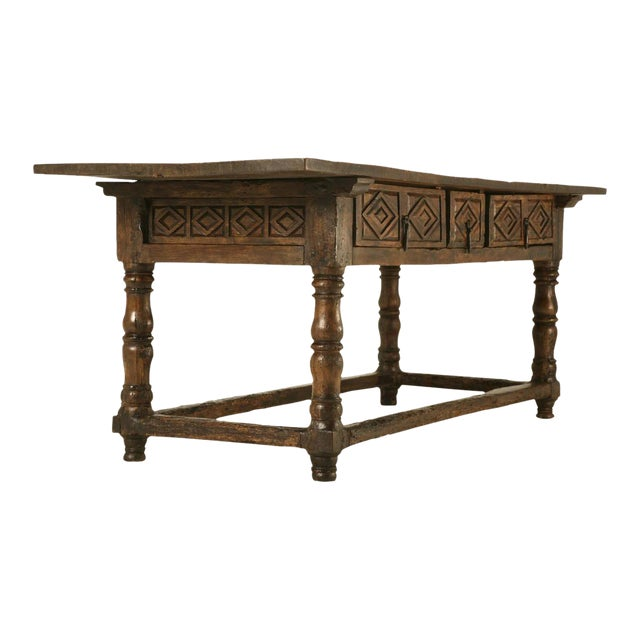 Antique Spanish Colonial Table For Sale