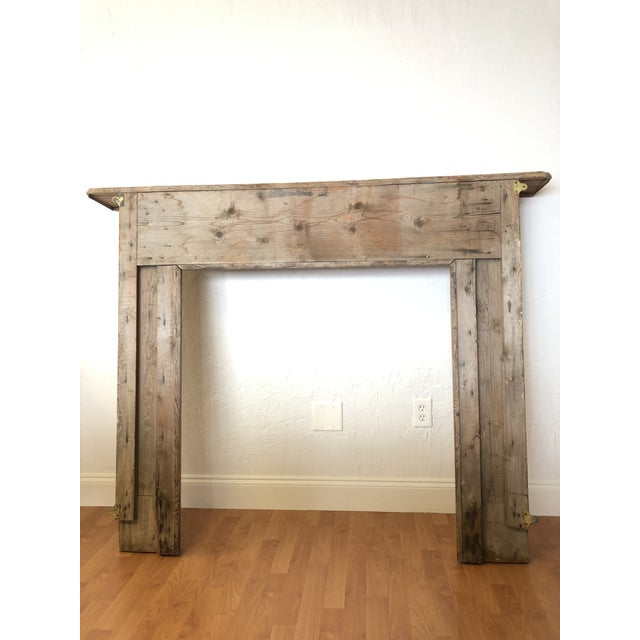 Late 19th Century Late 19th Century English Pine Mantel For Sale - Image 5 of 7