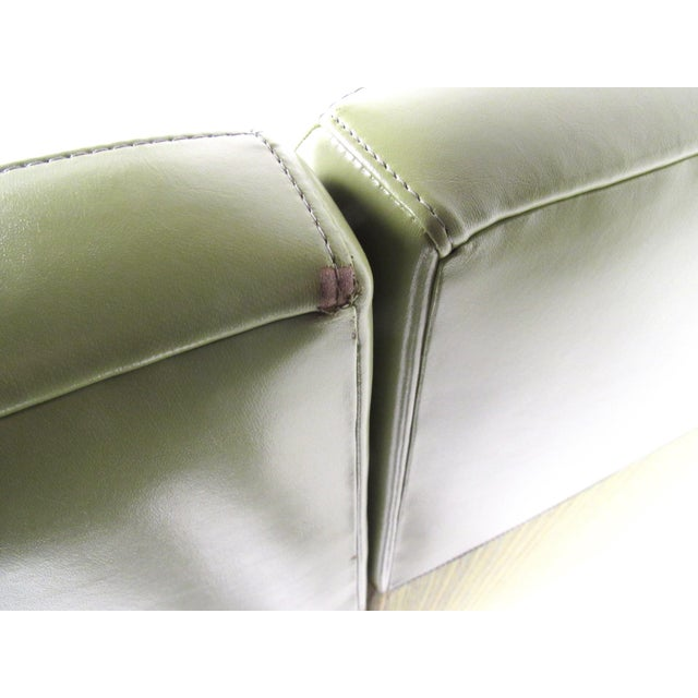 Stylish Modern Booth Style Sofa For Sale - Image 12 of 13