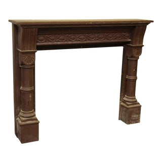 Decorative Wooden Mantel