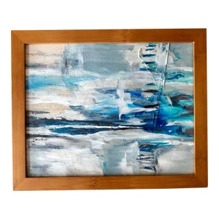 """Nancy Smith """"Diversion"""" Original Abstract Acrylic Painting For Sale"""