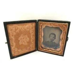 Daguerrotype Copper Framed Portrait Preview