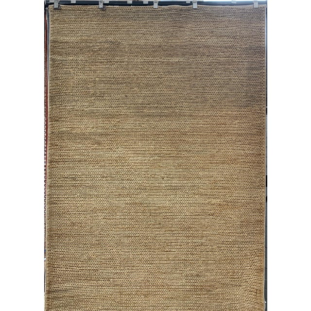 """Textile Hand Woven Jute Rug-5'5"""" X 7'10"""" For Sale - Image 7 of 9"""