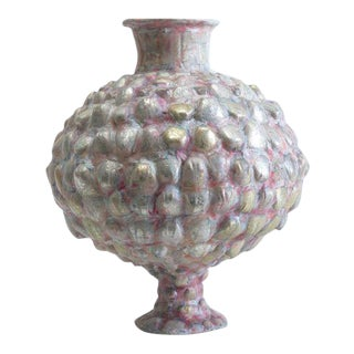 Shari Mendelson, Pink & Silver Vessel, Usa, 2016 For Sale