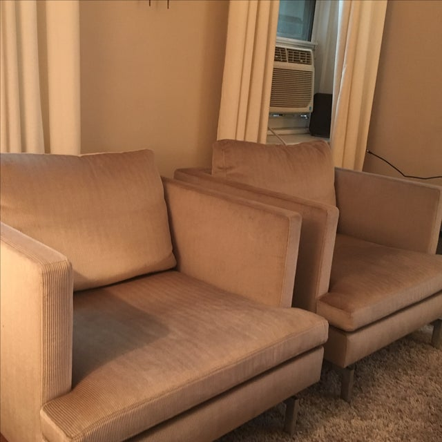 Ligne Roset Club Chairs - A Pair - Image 6 of 8
