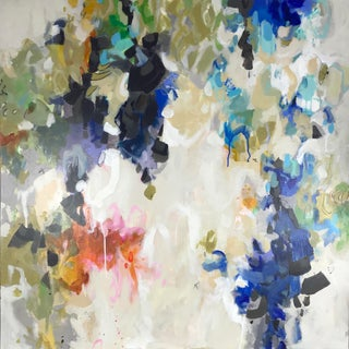 """Gina Cochran """"Emotional Contortionist"""" Original Abstract Mixed Media Painting For Sale"""
