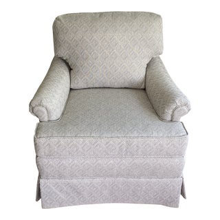 Upholstered Club Chair For Sale