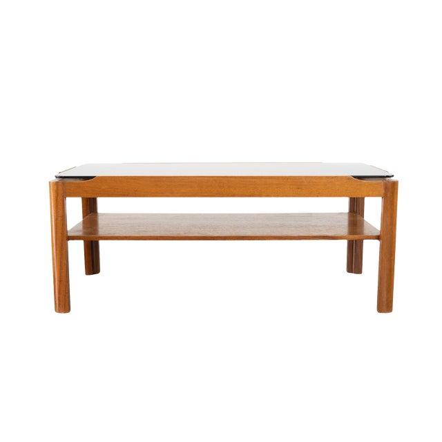 Mid Century Modern Smoked Glass Coffee Table Chairish