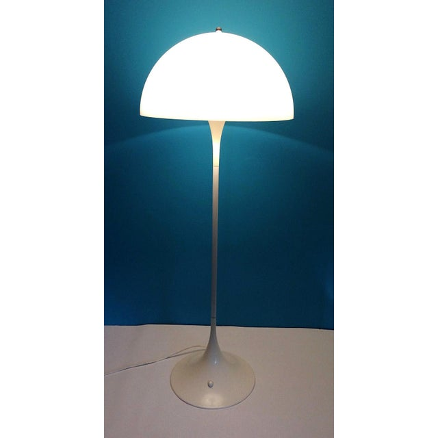 Verner Panton Dome Panthella Louis Poulsen Mid Century Modern Floor Lamp For Sale - Image 9 of 9
