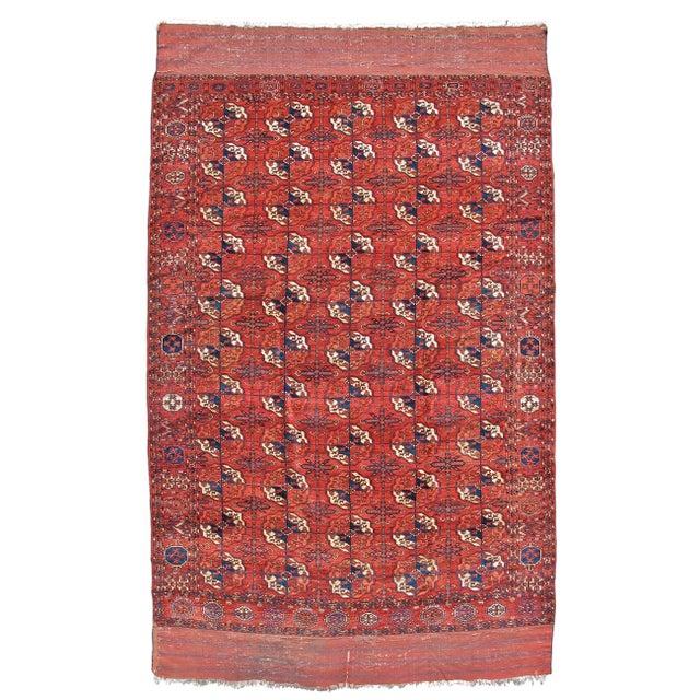 Islamic Tekke Main Carpet For Sale - Image 3 of 3