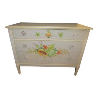 Hand Painted 3 Drawers Bureau