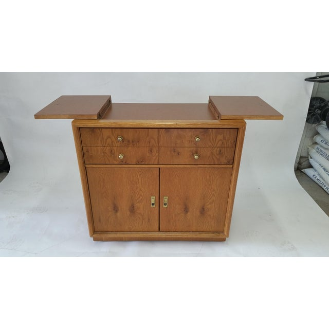 Stanley Mid-Century Rolling Bar - Image 4 of 7