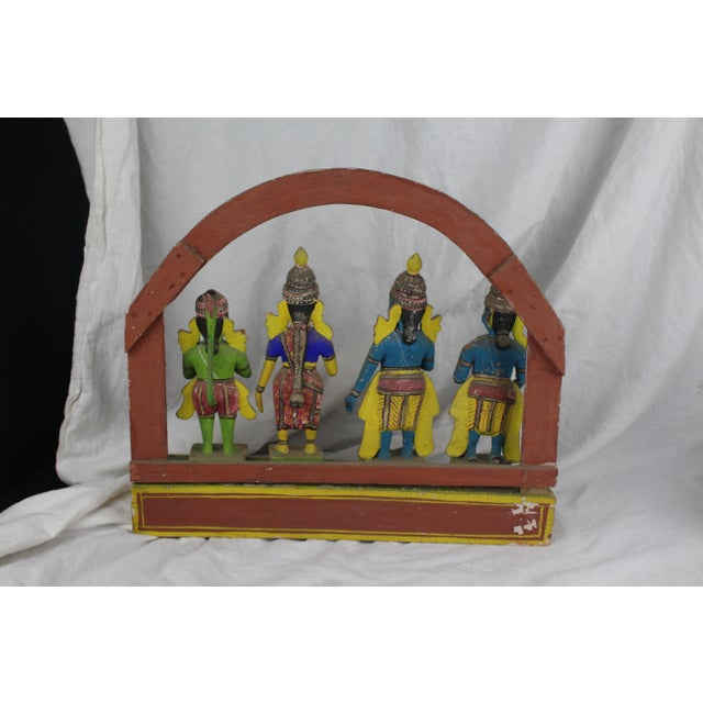 Mid 20th Century Antique Thai Shrine Decorative Object For Sale - Image 5 of 6