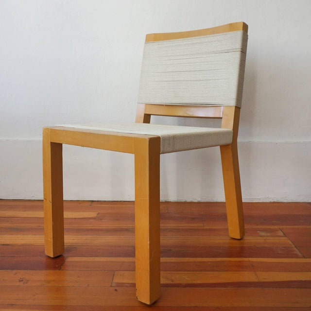 Mid-Century Modern String Chair by Van Keppel Green of Beverly Hills For Sale - Image 3 of 8