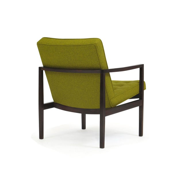 Wood Forma Brazil Rosewood Lounge Chair For Sale - Image 7 of 10