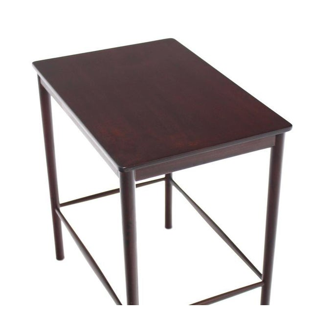 Very Nice Set of Three Rosewood Danish Nesting Tables For Sale In New York - Image 6 of 9