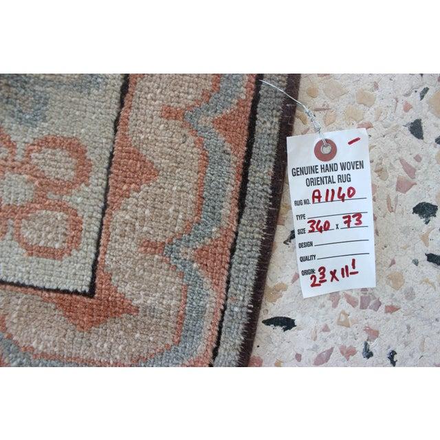 Oriental Handmade Runner Rug - 2′5″ × 11′4″ For Sale - Image 9 of 9