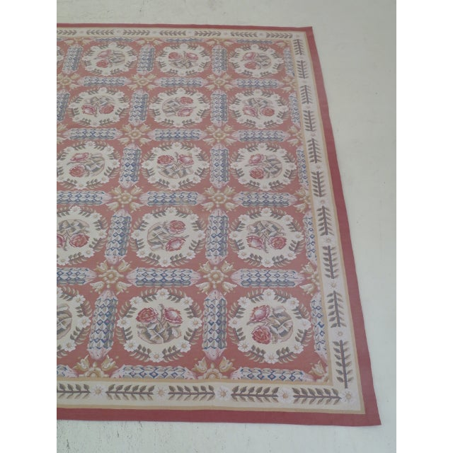 8' x 12' Room Size Quality Rug Age: Approx: 30 Years Old Details: High Quality Construction Tight Knot Aubusson Bright &...