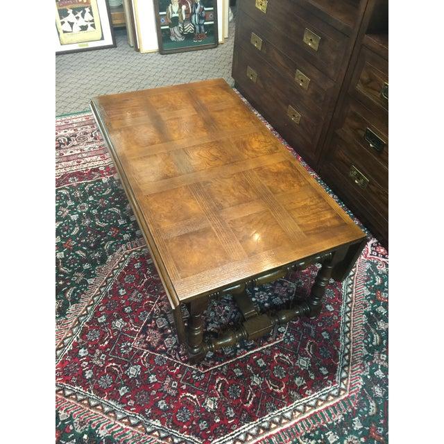 Baker Furniture Company Drop-Leaf Table - Image 4 of 8