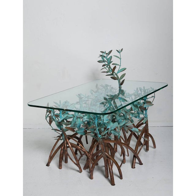 Copper Mangrove Coffee Table by Garland Faulkner For Sale - Image 11 of 13